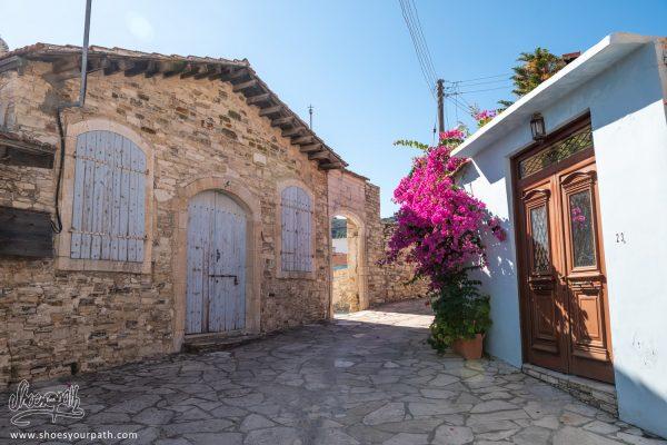 Les Ruelles De Kato Lefkara - Chypre