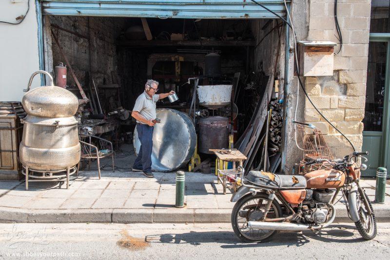 Dans Les Rues Du Vieux Centre De Larnaca - Chypre