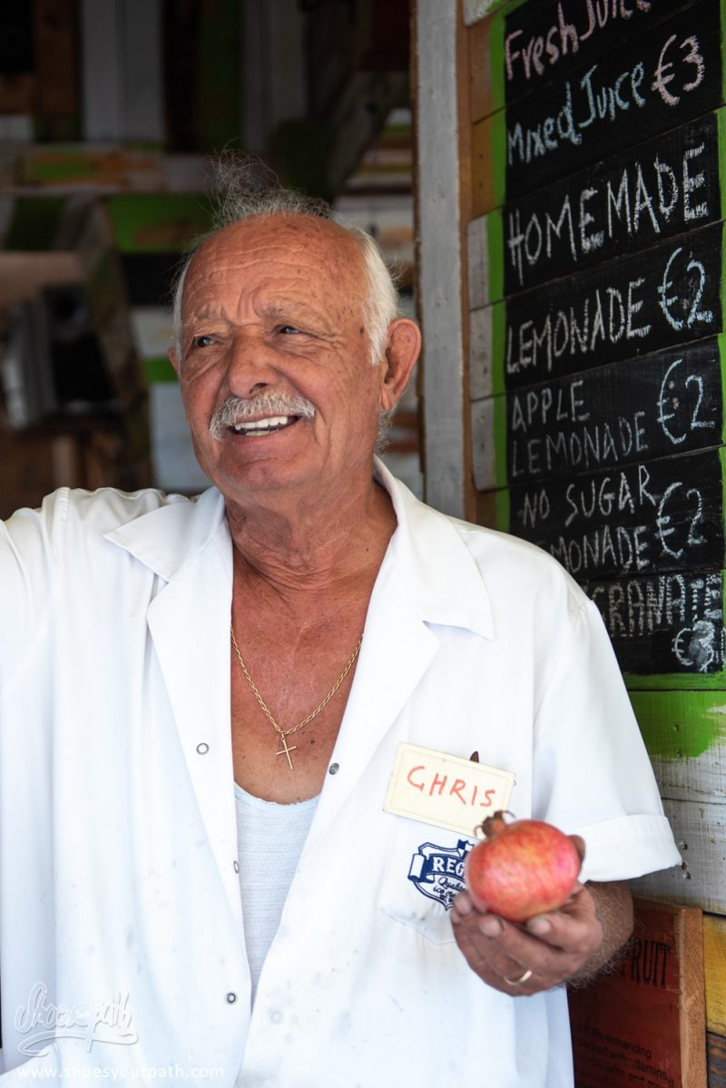 Chris, Le Patron Du Refuel Ice Cream à Larnaca - Chypre