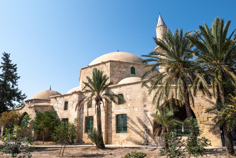 Hala Sultan Tekke mosque in Larnaca - Cyprus