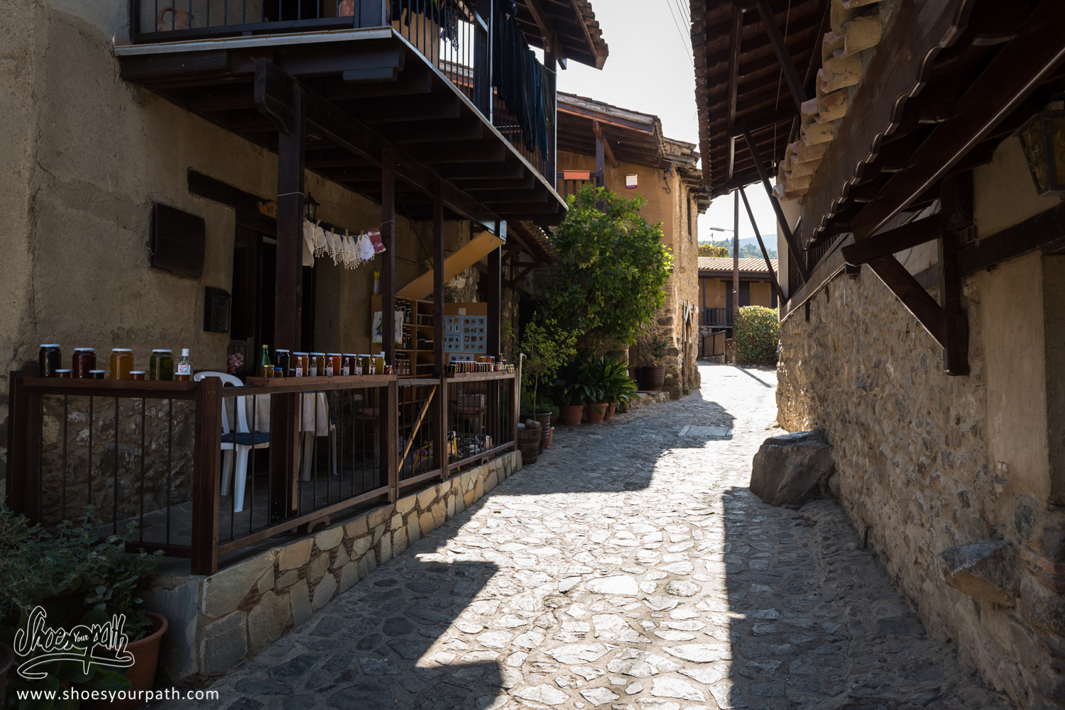 In the small streets of the old village of Kakopetria - Cyprus