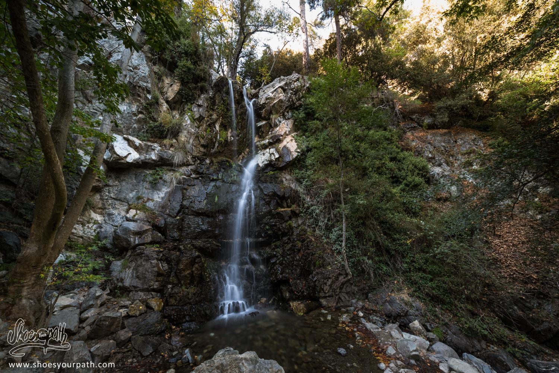 Les Kalidonia Waterfalls, plus hautes cascades de Chypre avec 12m de haut.