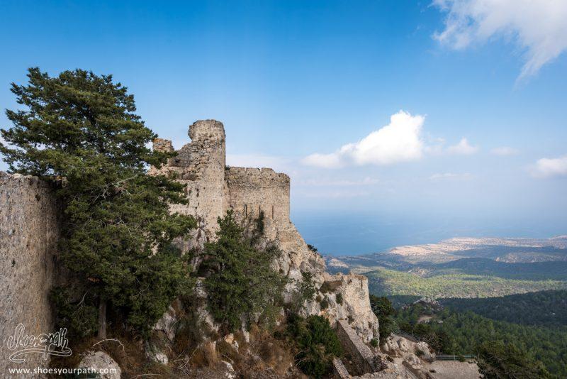 Le Château De Kantara Sur Les Hauteurs De Chypre Du Nord