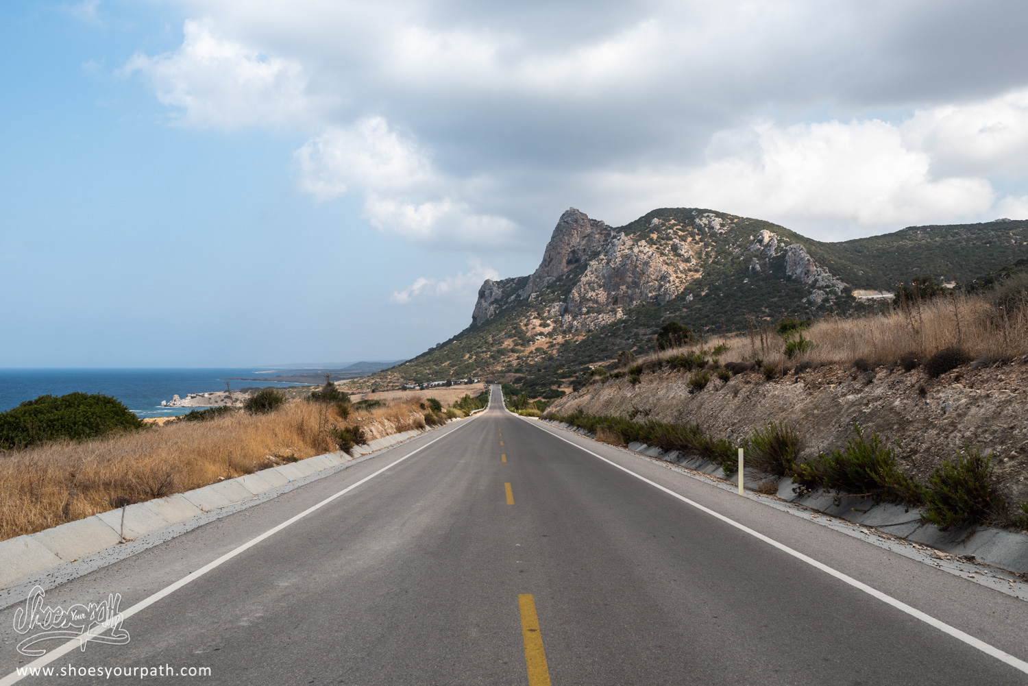 Alone. In the Karpas peninsula. North Cyprus.