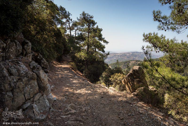 Sur Les Hauteurs De Troodos Sur Le Pouziaris Nature Trail