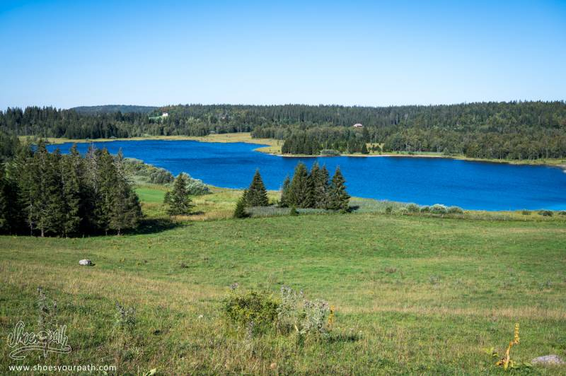 Le Long Du Lacs Des Mortes Et Du Lac De Bellefontaine